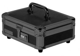 Vaultz vz00308Locking Cash Box, Bill und Münzeinsatz, Zahlenschloss, 21,6x 10,2x 25,4cm, Tactical schwarz - 1
